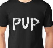 PUP Graffiti Logo White Unisex T-Shirt