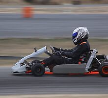 2014 Oz Gymkhana Round 1 - Nathan Nate Dale Shifter Kart by Stuart Daddow Photography