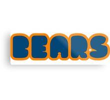 Da Bears Metal Print