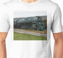 Chesapeake and Ohio 614 Green Steam Train Unisex T-Shirt