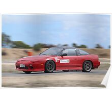2014 Oz Gymkhana Round 1 - #18 Nissan 180SX (3) Poster