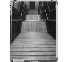 Back Stairs iPad Case/Skin