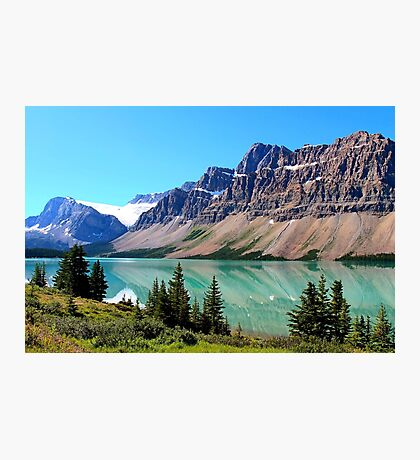 Bow Lake Alberta Photographic Print