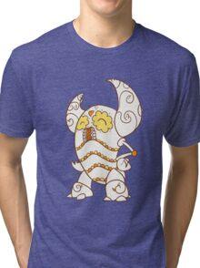 Pinsir Popmuerto | Pokemon & Day of The Dead Mashup Tri-blend T-Shirt