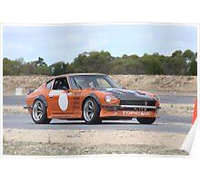 2014 Oz Gymkhana Round 1 - #09 Datsun 240Z Poster