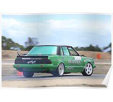2014 Oz Gymkhana Round 1 - #05 Nissan Bluebird Poster