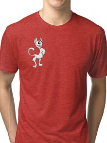 The Up Quark: A Particle Critter Tri-blend T-Shirt