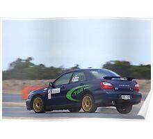 2014 Oz Gymkhana Round 1 - #36 Subaru WRX Poster