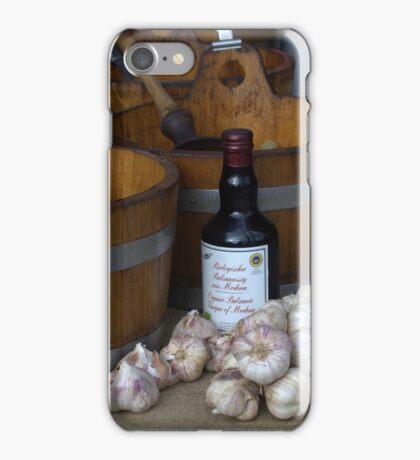 Garlic and Select Vinegar iPhone Case/Skin