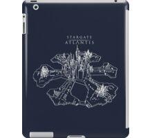 Stargate Atlantis City (White) iPad Case/Skin
