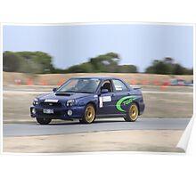 2014 Oz Gymkhana Round 1 - #21 Subaru WRX Poster