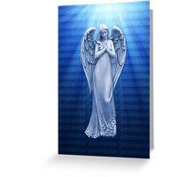 *•.¸♥♥¸.•*BLUE ANGEL RAYS OF LUV *•.¸♥♥¸.•*  Greeting Card