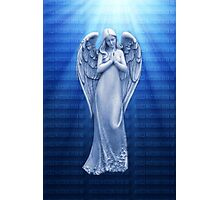 *•.¸♥♥¸.•*BLUE ANGEL RAYS OF LUV *•.¸♥♥¸.•*  Photographic Print