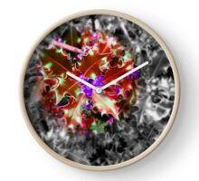 Feeling Festive - Red Clock