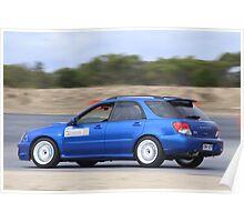 2014 Oz Gymkhana Round 1 - #20 Subaru WRX Hatch Poster