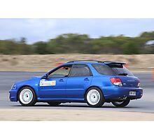 2014 Oz Gymkhana Round 1 - #20 Subaru WRX Hatch Photographic Print