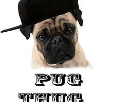 Pug thug by kaidanshepard