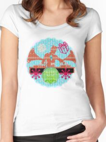 x party vintage Women's Fitted Scoop T-Shirt