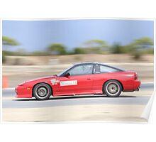 2014 Oz Gymkhana Round 1 - #18 Nissan 180SX (2) Poster