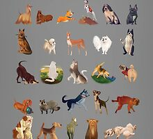 Dogs from A - Z by Linh Diep