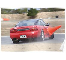 2014 Oz Gymkhana Round 1 - #18 Nissan 180SX (1) Poster