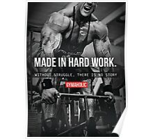 Made In Hard Work Poster