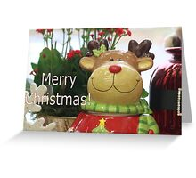 Chris Moose Greeting Card