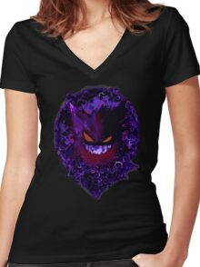 character of game Women's Fitted V-Neck T-Shirt