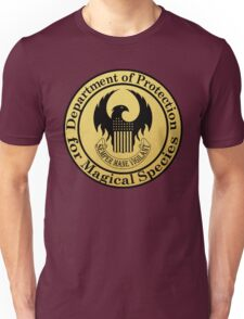Department of Protection for Magical Species Unisex T-Shirt