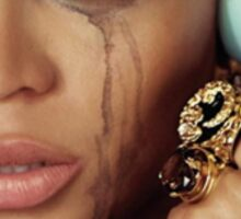 Crying Beyonce Sticker