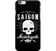 Saigon Motorcycle Club | White iPhone Case/Skin