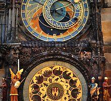 Prague Astronomical Clock by JennyRainbow