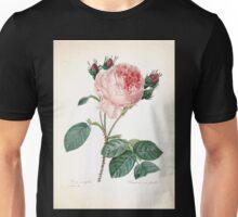 Choix des plus belles fleurs et des plus beaux fruits Pierre Joseph Redouté 1833 104 Beautiful Flowers Finest Fruits Unisex T-Shirt