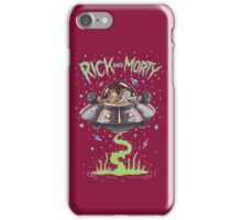 Spaceship - Rick and Morty iPhone Case/Skin