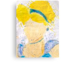 Abstract Disney Princess Painting - Cinderella  Metal Print