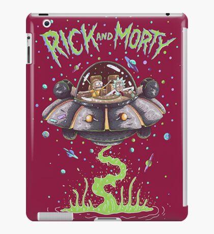 Spaceship - Rick and Morty iPad Case/Skin