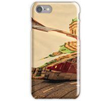 Turn the Page of Past Day. Prague Streets iPhone Case/Skin