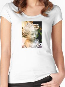 retro photo Women's Fitted Scoop T-Shirt