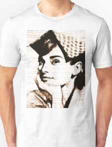 old book drawing famous people cal Unisex T-Shirt