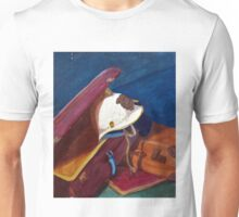 Helm in suitcase painting octobre 2013 Unisex T-Shirt