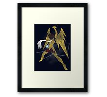 Pegasus constellation Framed Print