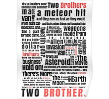 Two Brothers - Rick and Morty Poster
