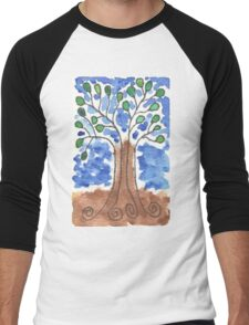 Roots and Leaves Men's Baseball ¾ T-Shirt