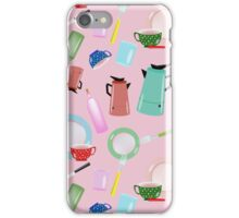 Pink nKitchen iPhone Case/Skin