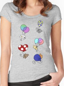 Balloon Mice Women's Fitted Scoop T-Shirt