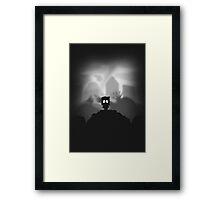 Paper boy. Framed Print