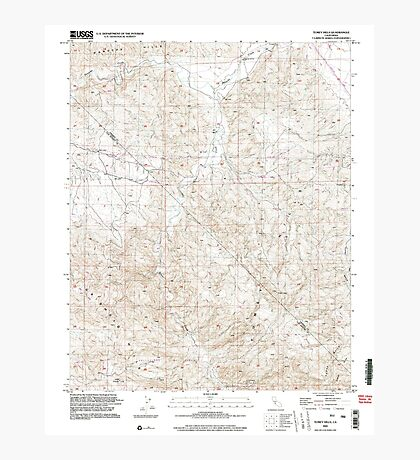 USGS TOPO Map California CA Tumey Hills 295542 2000 24000 geo Photographic Print