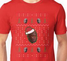 Crying Jordan Christmas Sweater Unisex T-Shirt