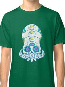 Omanyte Popmuerto   Pokemon & Day of The Dead Mashup Classic T-Shirt