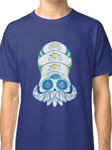 Omanyte Popmuerto | Pokemon & Day of The Dead Mashup Classic T-Shirt